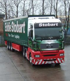 every truck has a name - we had fun trying to read them during a road trip in the UK in 2012.