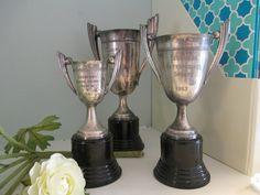 antique / vintage trophy display