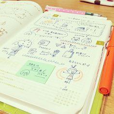 .@mizutamahanco | 今日のほぼ日手帳。あまちゃんオープニングポーズがめんけぇ♪のでメモ。 #ほぼ日手帳 | Webstagram