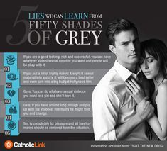Infographic: 5 lies we can learn from 50 Shades of Grey | Catholic-Link