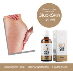 Entdecke jetzt GlückSkin Hautöl.  Exklusiv in der Schweiz bei click&care.