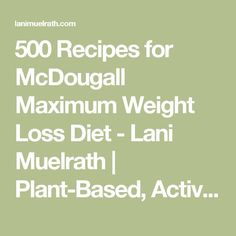 what is the best superfood powder for weight loss