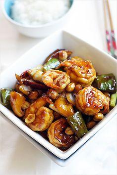 Kung Pao Shrimp Recipe | rasamalaysia.com