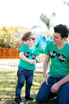 Pai e filho - Rock Star!