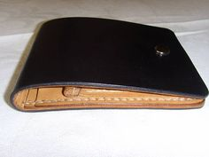 Leather wallet mini Сompact