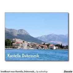 briefkaart voor Kastella, Dubrovnik, Kroatië