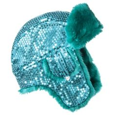 Cherokee® Girls' Sequin Trapper Hat -