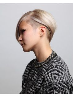 おしゃれの参考にしたい外人風ハイトーンショートヘアスタイル☆クールな髪型・カット・アレンジ☆