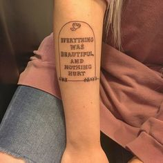 Vonnegut Forever - Quirky and Unique Literary Tattoos Perfect for Bookworms - Photos