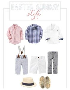 Easter Sunday Style Boy|Ahrens at Home