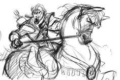 Flynn RiderConcept Sketch