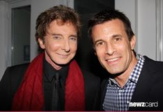 Barry Manilow and AJ Hammer attend the after party for the 'Manilow On Broadway' opening night at the Copacabana on January 29, 2013 in New York City.  (Photo by Bruce Glikas/FilmMagic)