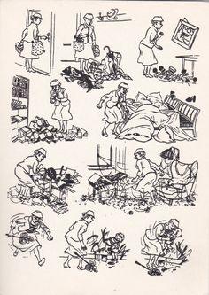 Herluf Bidstrup Terroriste Vintage Postcard par SovietPostcards