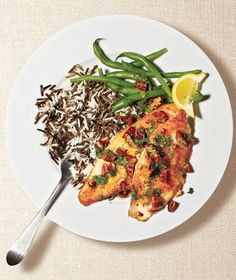 Tilapia With Pecan Brown Butter | RealSimple.com