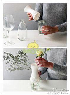 easy make vase
