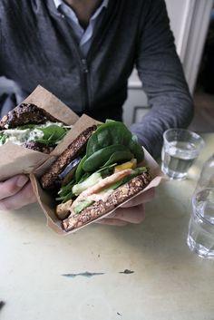 Ryebread sandwich, Kompa' 9 in Copenhagen. #lunch