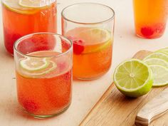 Cherry Limeade recipe from Ree Drummond via Food Network