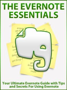 The Evernote Essentials: Your Ultimate Evernote Guide with Tips and Secrets For Using Evernote by Silver Bullet, http://www.amazon.com/gp/product/B00BD6XY7G/ref=cm_sw_r_pi_alp_Yjegrb11QE4GX