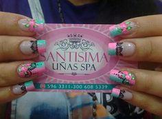 Cute Nails, Pretty Nails, My Nails, Nail Patterns, Nail Art Designs, Acrylic Nails, Manicure, Polo, Nailart