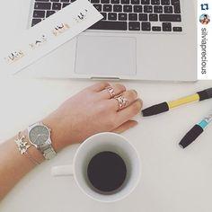 ・・・ #Coffee Break With #My @preziosajewelry #Jewels ☕️✨ • • Plani Bracelet • • Plani Ring • • World Ring •  #preziosa #preziosajewelry #glober #beaglober #design #style #jewelrydesign #fashionjewelry #jewelrygram #luxury #quality #stylish #lifestyle #madeinitaly #italian #coffee #break #tbt #ootd ⭐️⭐️⭐️ See more And SHOP ONLINE at http://www.preziosajewelry.com/shop-preziosa/en/