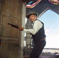 """William Holden, en """"Grupo Salvaje"""" (The Wild Bunch), 1969"""