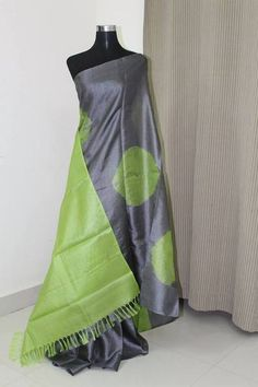 Bandhani pure tussar silk saree 100 percent pure silk Can be customised into any colours. To buy as running fabric in metres please contact us. Contact us at a
