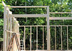 Teenage anneks i haven - #SILVANDIY Pergola, Outdoor Structures, Architecture, Garden, Atelier, Small Cabins, Arquitetura, Garten, Outdoor Pergola