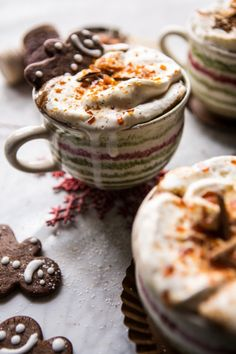 Recipe: Gingerbread Latte with Salted Caramel Sugar