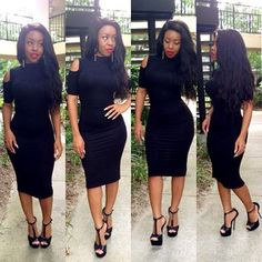 .@_1taylor (Morgan Taylor) 's Instagram photos | Webstagram - the best Instagram viewer Black Girl Fashion, Star Fashion, Fashion Hair, All Black Party, Tight Dresses, Tight Skirts, Fashion Books, African Dress, Dress To Impress