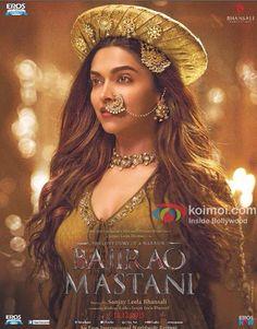 Bajirao Mastani Poster : Deepika Padukones Resplendent Look As Mastani