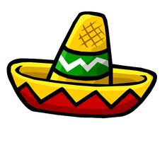 4f7f022069a Colorful Mexican Sombrero Hat - Free Clip Art