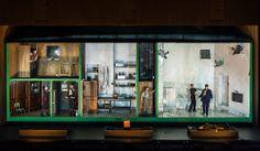 ENO's production of Handel's Rodelinda. Directed by Richard Jones. Sets by Jeremy Herbert. Follow me @operandesign