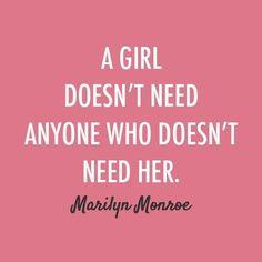Amen, Marilyn.
