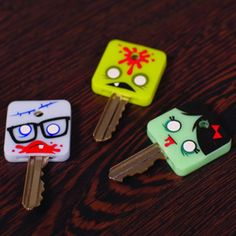 Gama-go Zombies Keytoppers  SKU# LA1115  By:   Gama Go Products