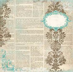 Making A Bridal Shower Scrapbook – Scrapbooking Fun! Scrapbook Paper Flowers, Papel Scrapbook, Scrapbook Background, Printable Scrapbook Paper, Birthday Scrapbook, Vintage Scrapbook, Digital Scrapbook Paper, Paper Background, Scrapbooking