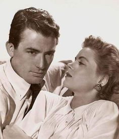 Gregory Peck and Dorothy McGuire
