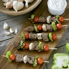 Lamb Kebobs with Mint-Yogurt Sauce « Toby Amidor Nutrition