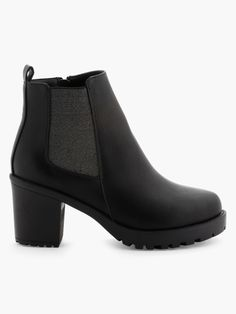 a8ad6b4a70f Boots Empiècements élastiqués - La Halle Bottes