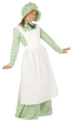 Laura Ingalls Wilder Costume - Pioneer Costumes - Childrens Pioneer Costume - Prairie Girl Costume