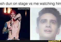 It's kinda true... though I've never seen him live
