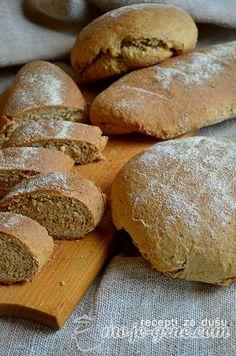 Hleb sa začinskim biljem i belim lukom - Ajme, koliko nas je