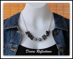 A personal favorite from my Etsy shop https://www.etsy.com/listing/82433565/black-necklaceblack-gemstone