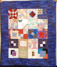 A sweet sampler by the Barb Draper's quilting angels.