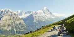 Mountain Karting in Grindelwald, Switzerland