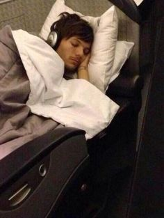 Sleeping Louis
