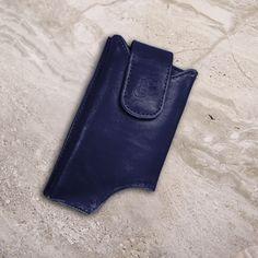 The Original LD West® Wallet Case - Navy