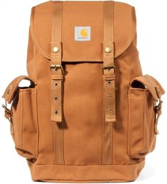 Carhartt WORK IN PROGRESS Brown Tramp Backpack | Hypebeast Store