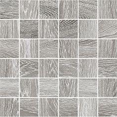 #Cerdisa #Steam Wood #Mosaik 5x5 Ash Gr 30x30 cm 58073 | Feinsteinzeug | im Angebot auf #bad39.de 73 Euro/qm | #Mosaik #Bad #Küche