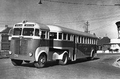 1947 AEC Matador Articulated Bus.