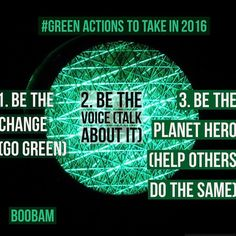 One of the most important checklists of 2016...Be a planet hero!!!